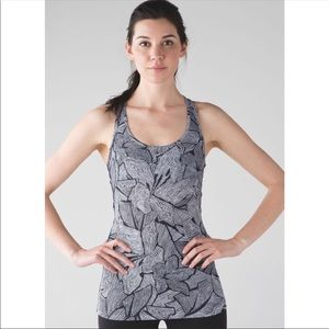Lululemon | Cool Racerback Dottie Tribe Luon Light